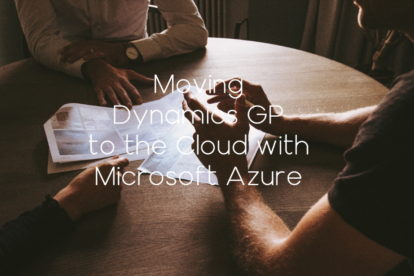 Dynamics GP to Azure - 1 hr assessment