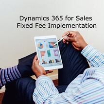 Dynamics 365 Sales fixed fee